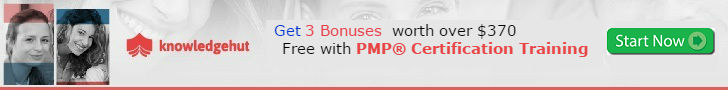 Get Three Bonuses When You Purchase a PMP Online Training. (Over $370 Value, Free)