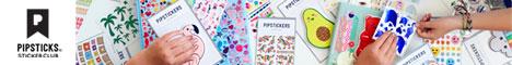 Pipsticks Sticker Club