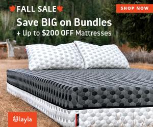Save BIG on Bundles + $200 OFF Mattresses