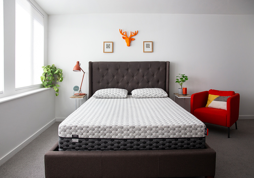 layla mattress in bedroom
