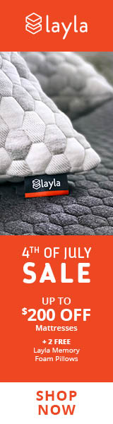 Up To $200 OFF Mattresses + 2 FREE Layla Memory Foam Pillows