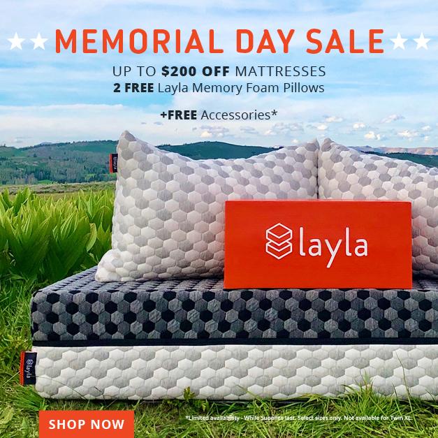 Layla Mattress Sleep Hot
