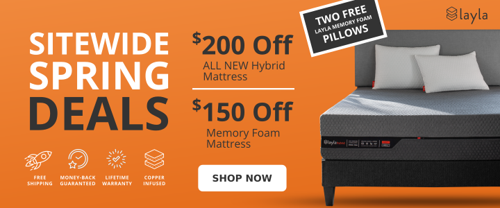 Layla Sleep Spring Deals