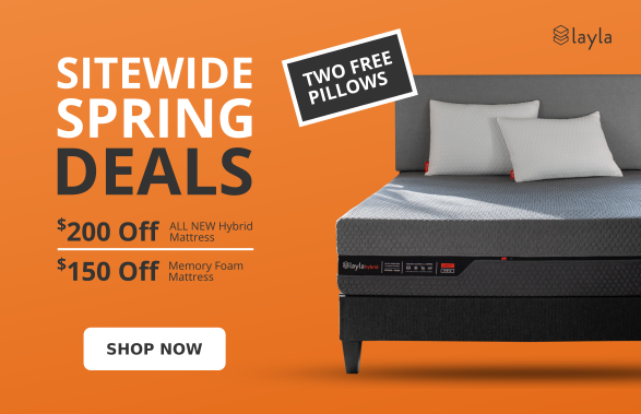 sitewide spring deals - best side sleeper mattress