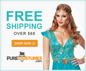 Free Shipping Over $65 at PureCostumes.com