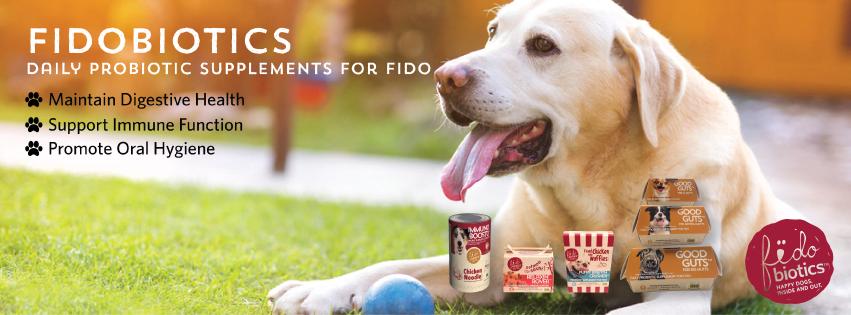 Fidobiotics - Daily Probiotics For Dogs