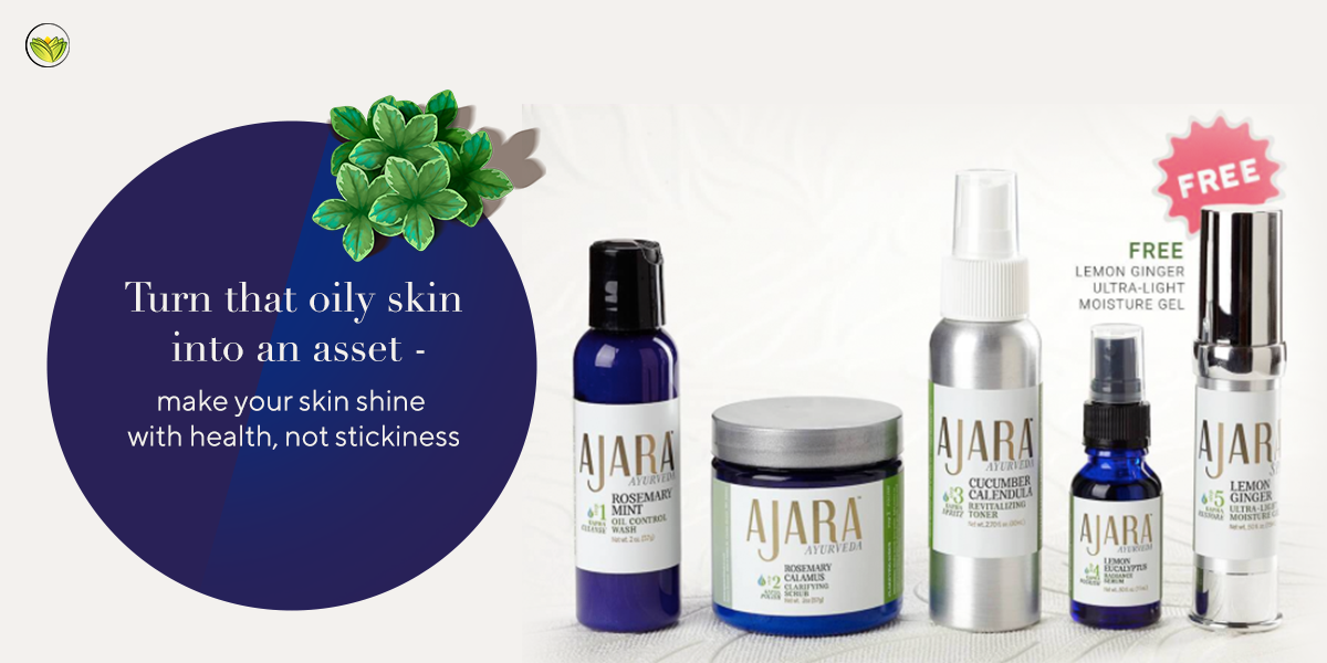 Ajara Daily Face Care Kit for Oily Skin