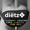Dietz men's swimwear