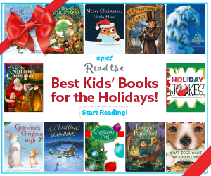 Holiday Books 300 x 250 with bow
