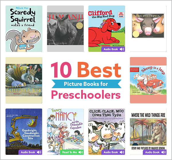 10 books for preschool