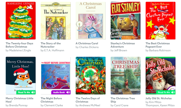 Holiday Books List