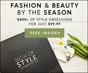 Fashion & Beauty by the Season. $400+ of Style Obsessions for Only $99.99