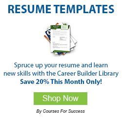 Spruce up your resume and grow your career with the Career Builder Library