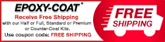 Free Shipping from Epoxy-Coat