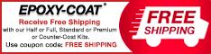 Free Shipping from Epoxy-Coat