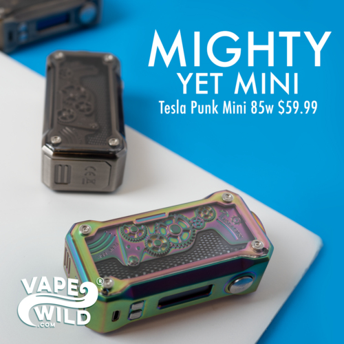 Mighty Yet Mini | The Tesla Punk Mini from VapeWild