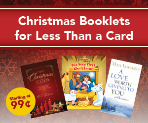 Christmas Booklets for Less Than a Card - 99 cents