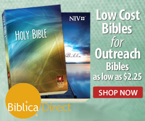 Bibles for Outreach $2.25