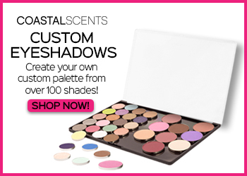 Coastal Scents Custom Eyeshadows. Create your own custom palette from over 100 shades!
