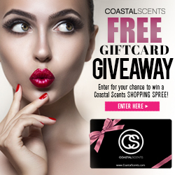 Coastal Scents Free Giftcard Giveaway. Enter for your chance to win a shopping spree on us!