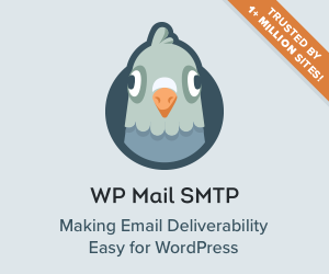 WP Mail SMTP banners