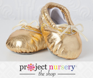 Gold Ballet Slippers