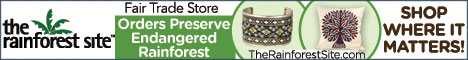 Shop Where It Matters Most, Every Purchase Funds Rainforest Reservation!