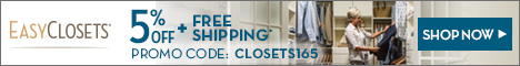 Easy Closets Coupon