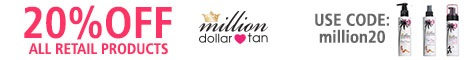 20% Off Coupon Code Million Dollar Tan