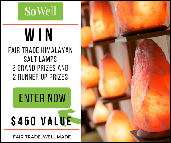 So Well Himalayan Salt Lamp Giveaway