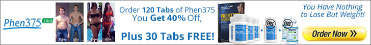 40% OFF On Phen375 Products