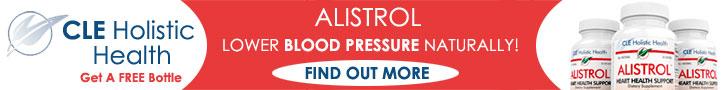 Alistrol - Lower Blood Pressure Naturally banner