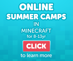 Check out the online summer camps in Minecraft at ConnectedCamps.com
