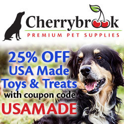 25% off USA Made Toys & Treats