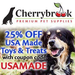 25% off USA Made Toys & Treats