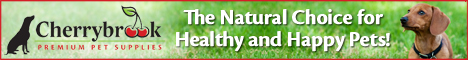 Cherrybrook Pet Supplies - The Natural Choice for Happy and Healthy Pets