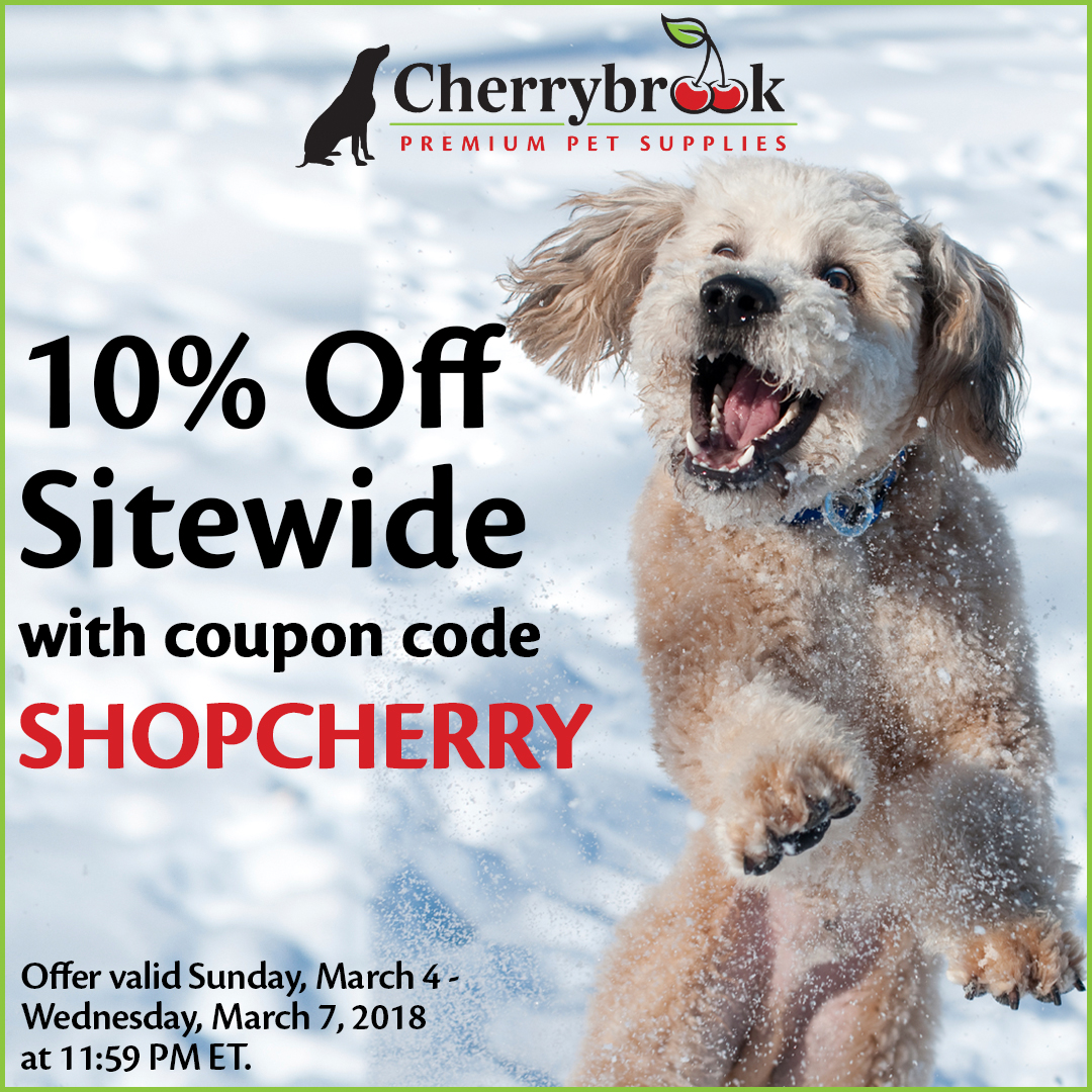 CherryBrook 10% off SITEWIDE using promo code SHOPCHERRY