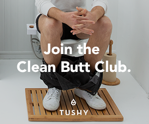 Join the Clean Butt Club