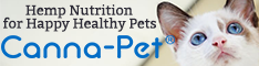 Cannabinoid nutrition for Happy Healthy Pets