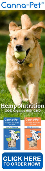 Organic Advanced Formula Canna-Biscuits – Hemp Dog Biscuits