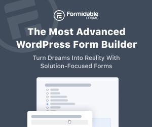 Most Advanced WordPress Form Builder