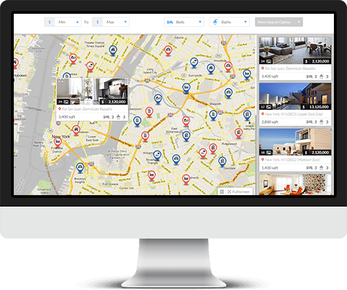 Web design services for Real Estate Agents and brokers - MLS Integration