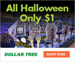 Halloween items at DollarTree.com