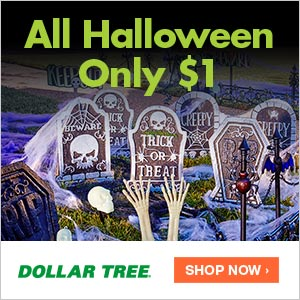 Prepare For Halloween at Dollar Tree! - BB Product Reviews