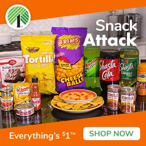 #snacks,Everything Is Just $1 At DollarTree.com!