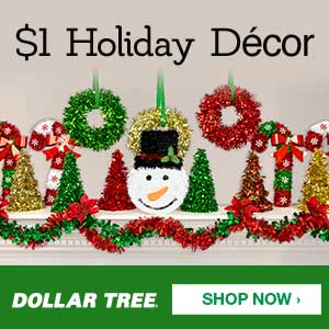 Entire Week of $4.95 Flat Rate Shipping from the Dollar Tree!