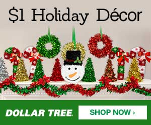 Dollar Tree - Holiday Decor