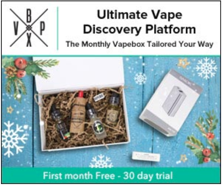 Vapebox free vape juice