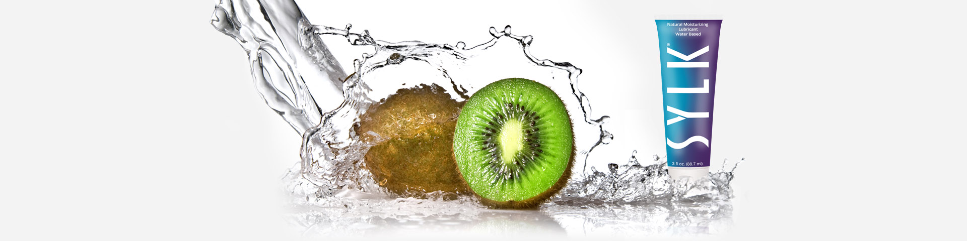 The only all-natural moisturizing lubricant made from the kiwifruit of New Zealand