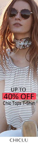 Up to 40% off Chic Tops T-Shirt with Free Shipping